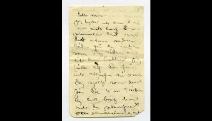 John och Esther Bauers brev på Digitalt museum.